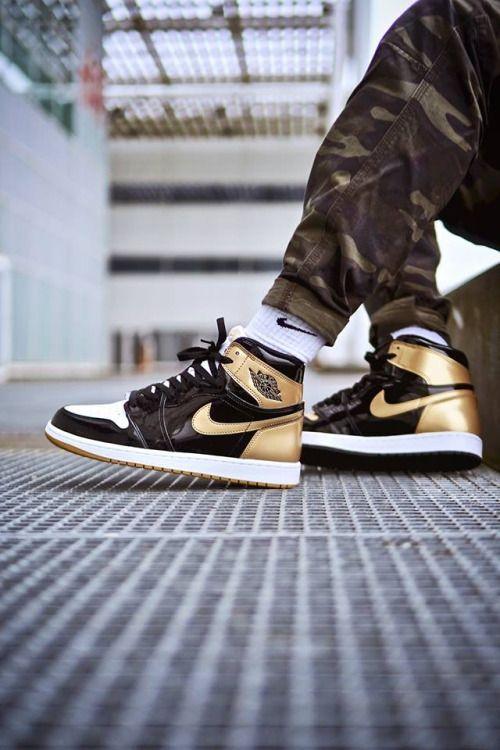 Nike Air Jordan 1 Retro High Og Gold Top 3 2017 By Jo