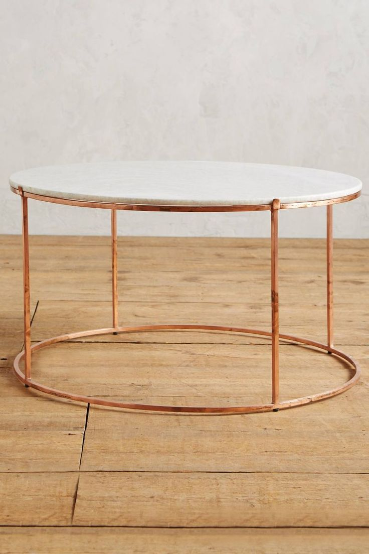 12 round coffee tables we love theeverygirl the - Tisch oval weiay ...