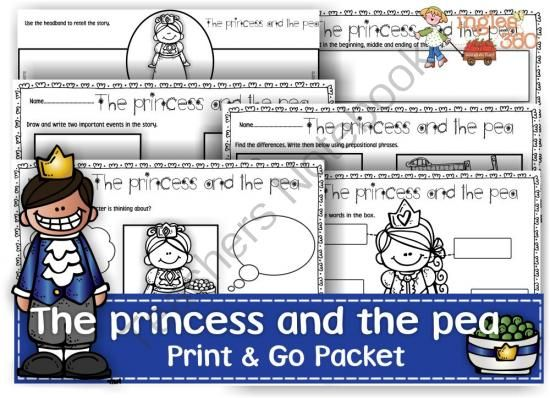 The Princess and the Pea Primary Resources