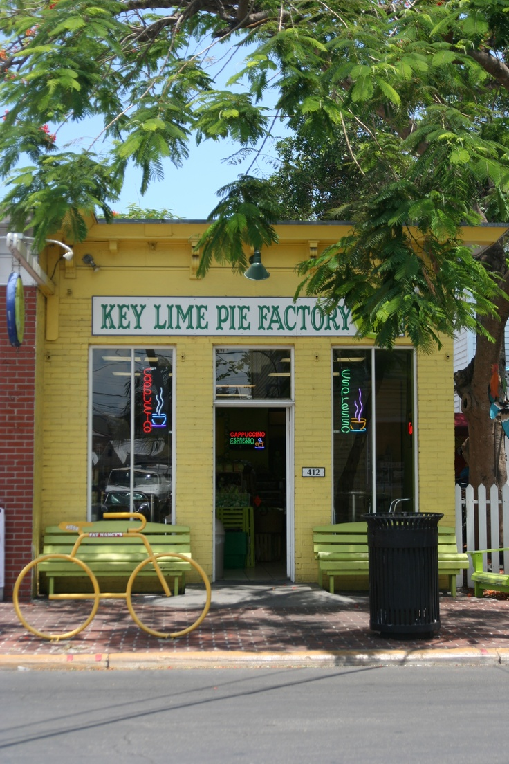 Key Lime Pie Factory in Key West, Florida....