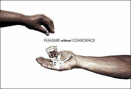 간디가 말하는 7가지 사회악  1.원칙없는 정치(Politics without Principle)  2.노동없는 부(Wealth without Work)  3.양심없는 쾌락(Pleasure without Conscience)  4.인격없는 지식(Knowledge without Character)  5.도덕성없는 상업(Commerce without Morality) 6.인간성없는 과학(Science without Humanity) 7.희생없는 신앙(Worship without Sacrifice) ▶  출처: http://olpost.com/v/2121641