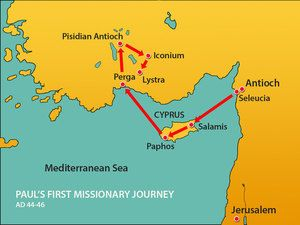 First missionary journey