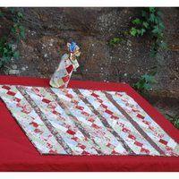 Christmas Diamonds Table Topper Pattern