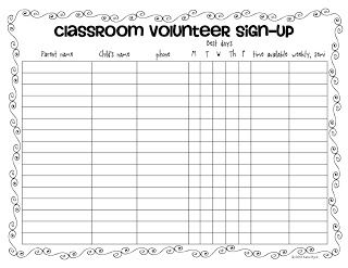 Mrs. Byrd's Learning Tree: Ask for what you want! FREE forms to ask for parent volunteers in your classroom!