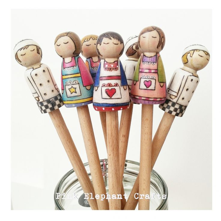 Peg Doll Spoon Topper The Perfect Gift For Great British