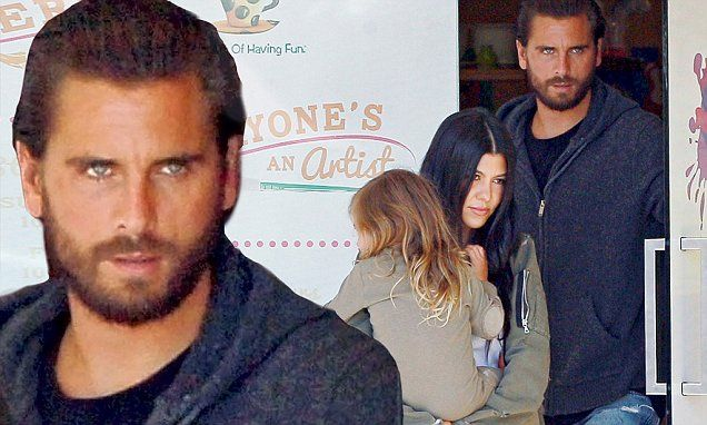 Scott Disick plays family man day after explosive KUWTK episode