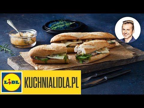 (148) Chrupiąca kanapka 🍞 z LAZUREM i KURCZAKIEM | Karol Okrasa - YouTube
