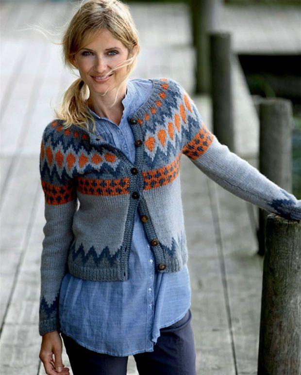 Strik selv: Nordisk trøje - Hendes Verden