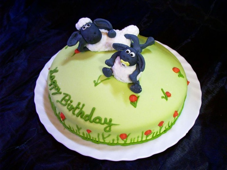 Shaun The Sheep Cake Tin