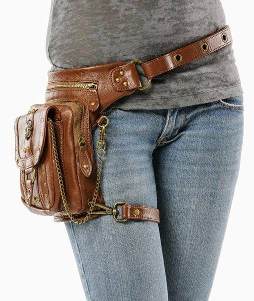 Warrior Pack Outlaw 8-Way Bag - Brown | Warrior Creek - Unique Fashion Accessories