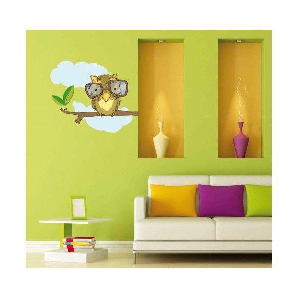 Vinilo decorativo Buho http://www.elhogardelbebe.com/varios/vinilos-decorativos/vinilo-decorativo-buho-detail.html