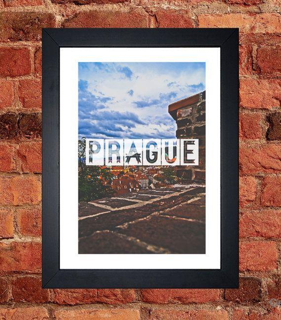Prague City Print - Digital download.