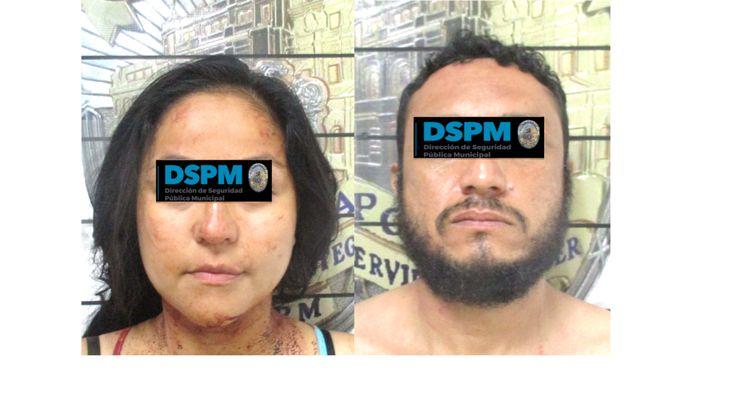Traslada Policía Municipal a familia completa a la Comandancia por violencia familiar; 2 menores quedaron resguardados en trabajo social | El Puntero