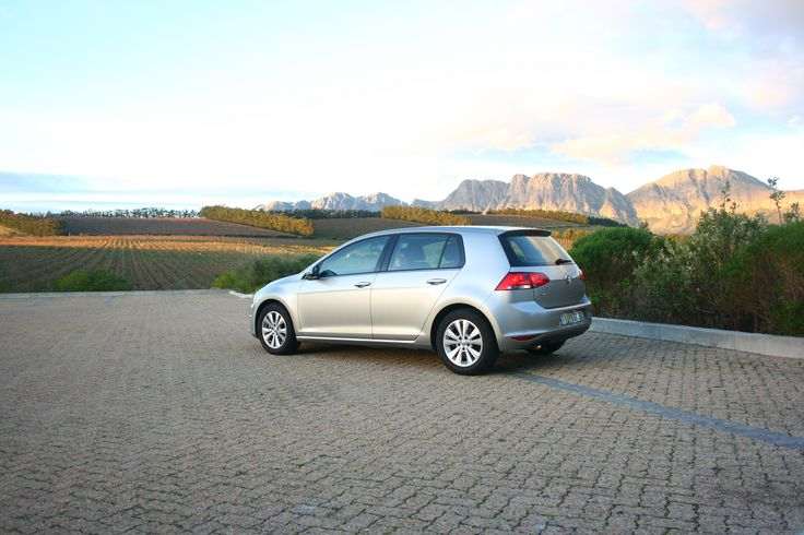 VW Golf 7 Tsi - Photographed at the Waterkloof Estate restaurant outside Somerset West, Cape Town.