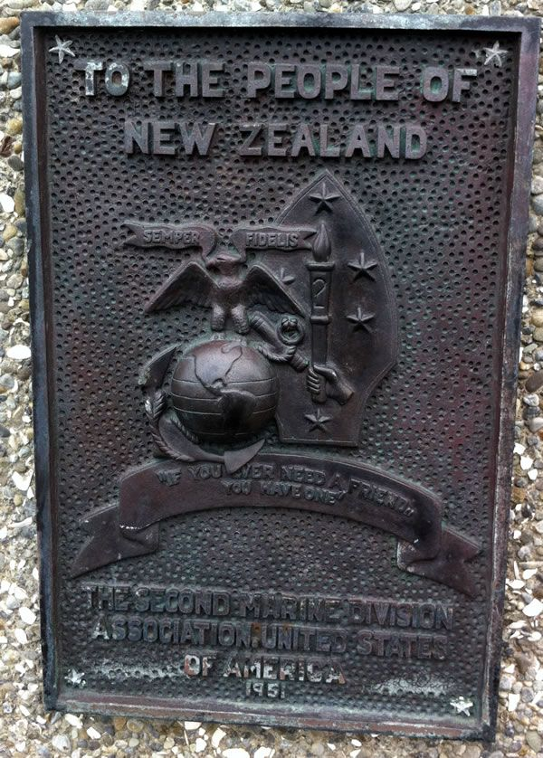 Us Marine Corps history   US Marine Corps memorial, Wellington   NZHistory, New Zealand history ...