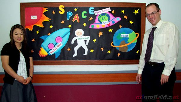 Clutter-Free Classroom: space themed classroom ideas- I want to add more themed elements for next year