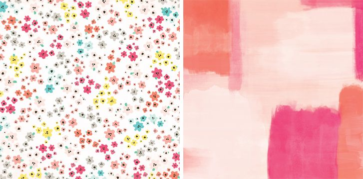 Another Pink Paislee Fancy Free paper to counterfeit for July '17