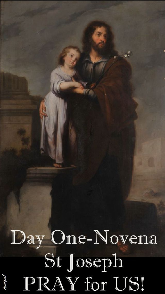 11 March FOSTER-FATHER OF JESUS Saint Joseph, you were privileged to share in the mystery of the Incarnation as the foster-father of Jesus. Mary alone …~ AnaStpaul