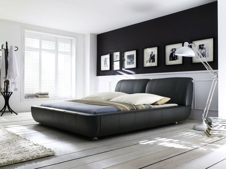 15 best Schlafzimmer images on Pinterest Bedroom, Beds and 3\/4 beds - industrial design mobel offen bilder