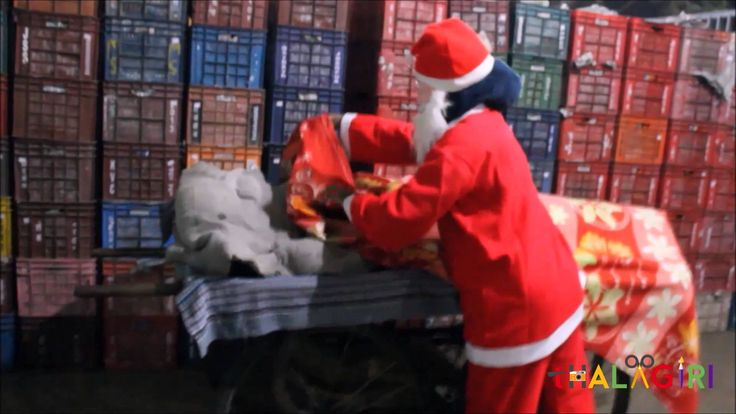 Santa helped homeless this #Christmas 2014