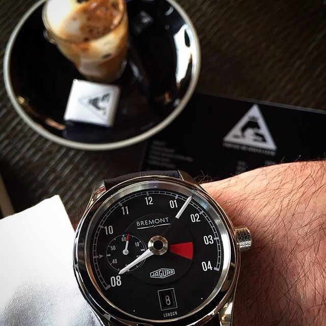 #MyBremont the #Bremont Jaguar MKI pictured beautifully by @mad_australia #womw #jaguar #watches #luxury #watchesofinstagram #watchoftheday by bremontwatches