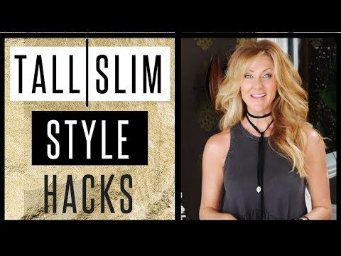 29a708fc7 Over 50 Style Tips | Style An Outfit To Look Taller & Slimmer! - YouTube