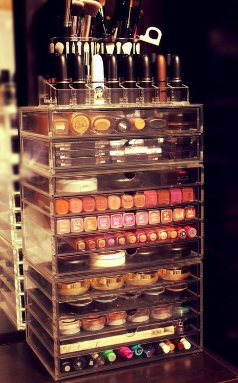 I want a makeup organizer like this!