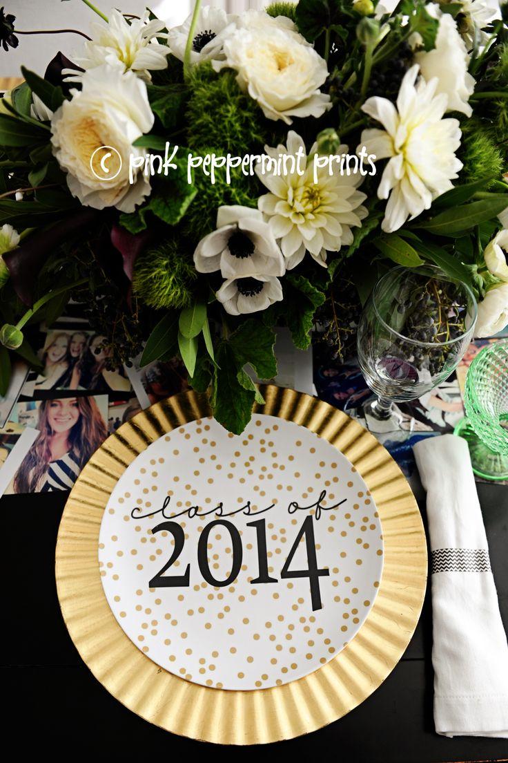 2014 graduation decorations - Shutterfly Class Of 2014 Plate 2 Web