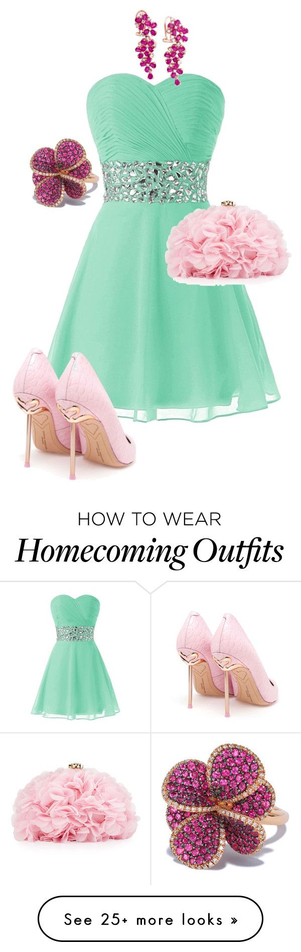 """"""""""" by lolyspa on Polyvore featuring Sophia Webster, Betsey Johnson and Effy Jewelry"""