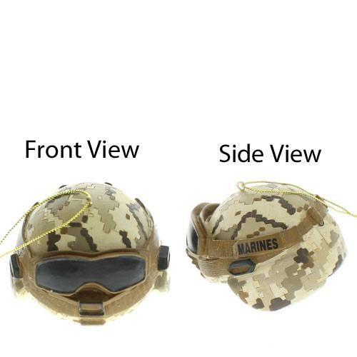 USMC Combat Helmet Military Ornament