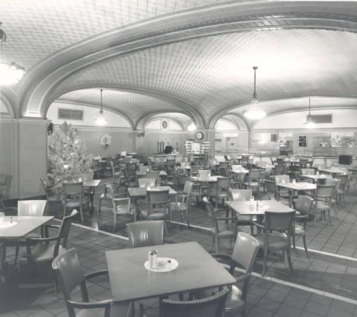 Pantlind Hotel Restaurant Interior December 13 1951 Grand Rapids History In 2018 Pinterest Michigan And