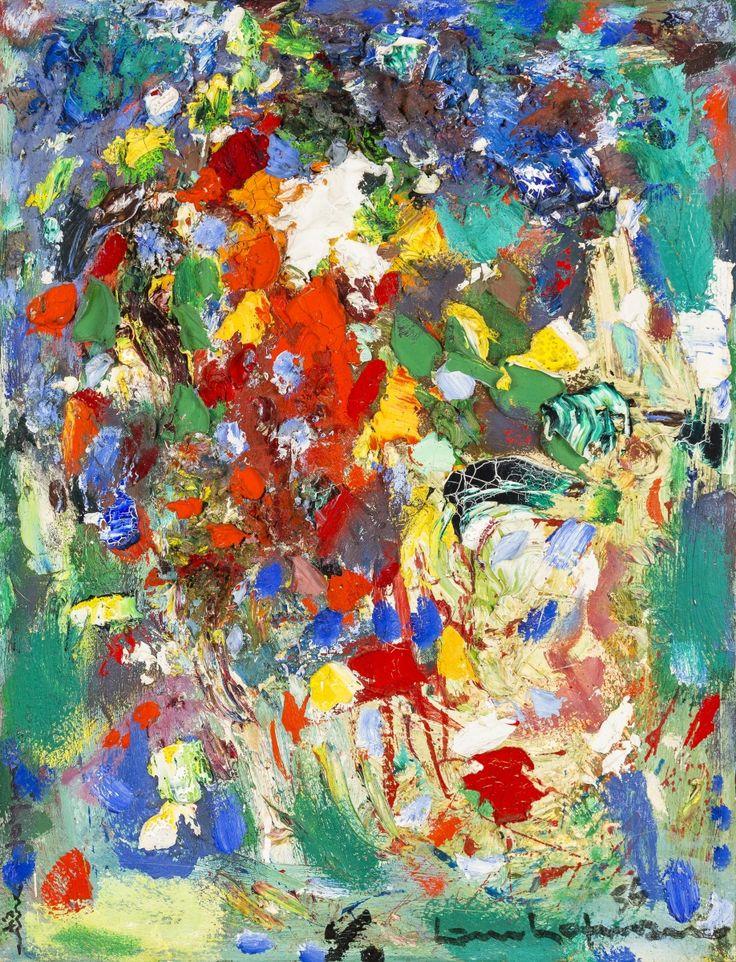 Hans Hofmann (American, born Germany, 1880–1966), Composition #3, 1952. Oil on canvas, 76.8 x 61.3 cm. Collection of Preston H. Haskell, Class of 1960. © 2014 Artists Rights Society (ARS), New York / VG Bild-Kunst, Bonn / photo: Douglas J. Eng