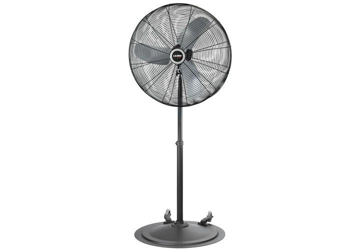Lasko 30 Industrial Grade Oscillating Fan With Wheels With