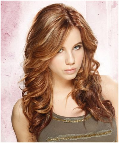 10 Thick Layered Hairstyles You Should Definitely Consider--love the color, highlights and the curls