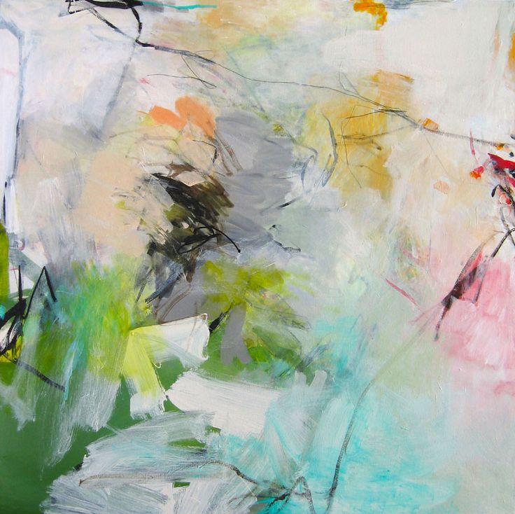 Image: © Charlotte Foust Renewal Acrylic on Canvas, 46 x 46 framed