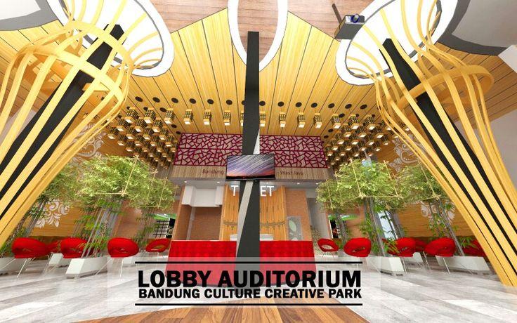 Lobby Auditorium - bandung culture creative park - im 1