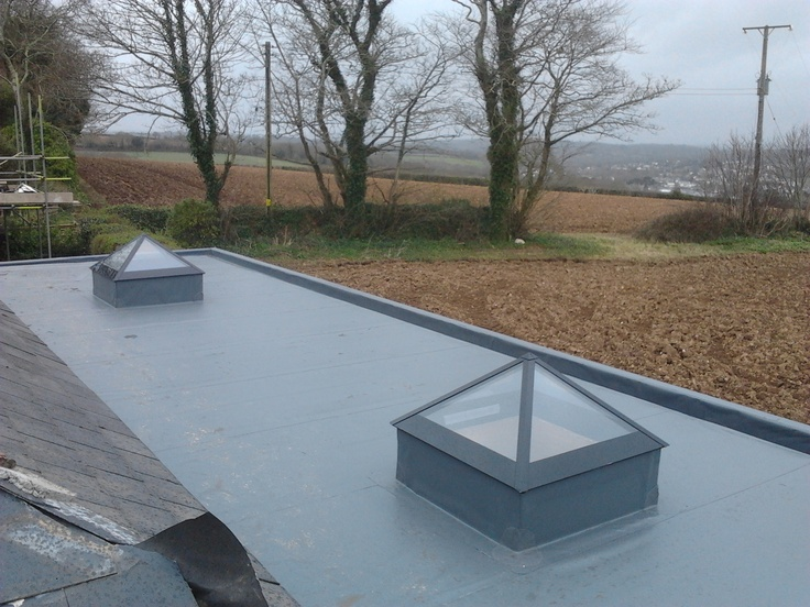 Single ply roofing - Mylor