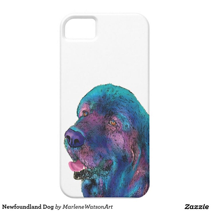 Newfoundland Dog iPhone 5 Covers