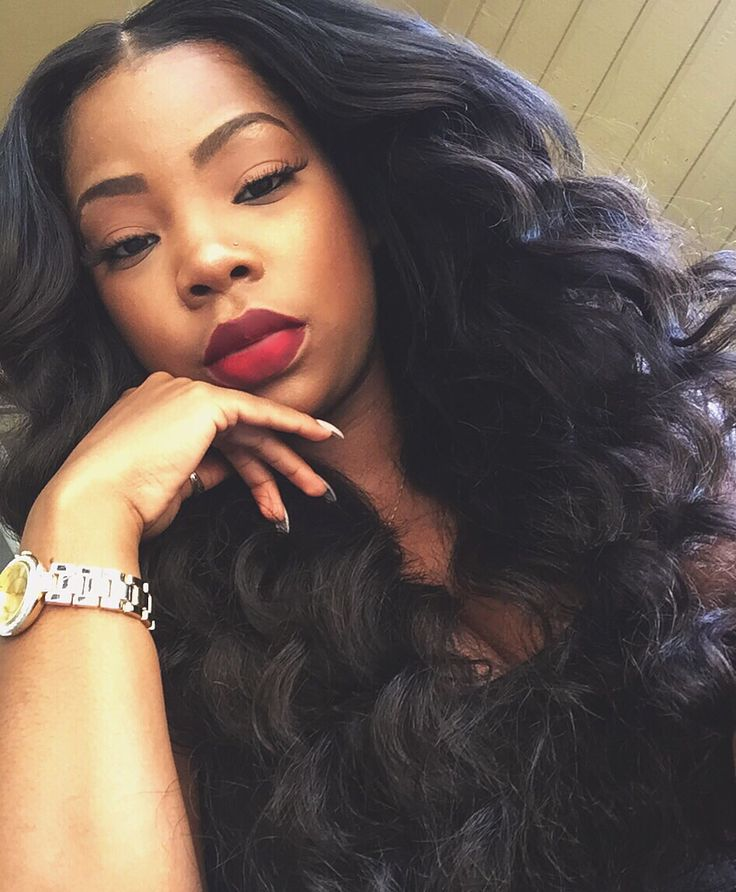 U part wig and the perfect Red lip