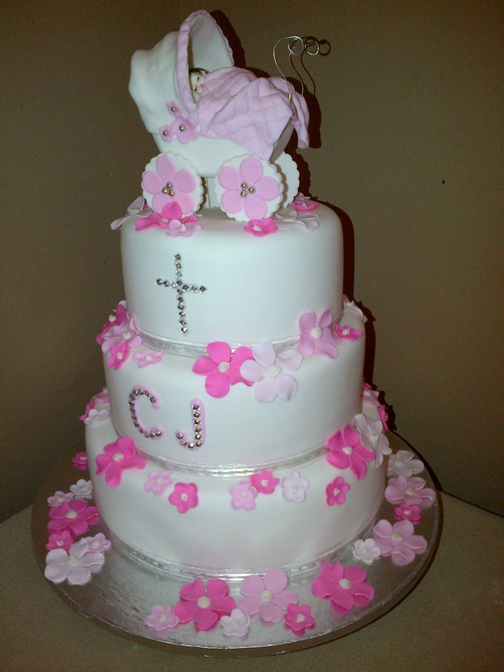 My granddaughters Christening cake