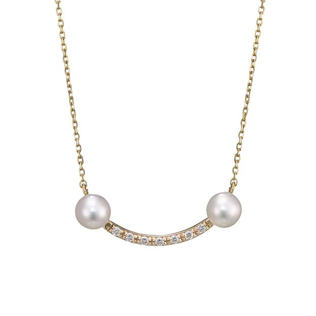 STAR JEWELRY Girl|PEARL SMILE NECKLACE: ネックレス