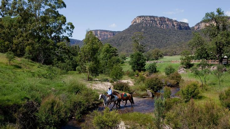 Wolgan Valley Resort & Spa Lithgow, Australia - Horse back Riding