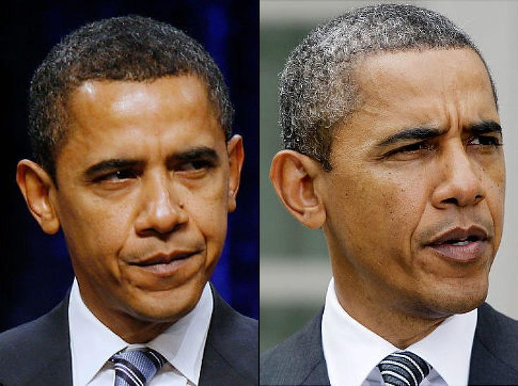 President Barack Obama has admitted that he does not dye his hair, unlike other world leaders. Barack Obama, 54, was responding to