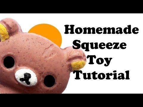 Diy Rilakkuma Squishy : 60 best images about Squishy Toys & DIY Tutorials on Pinterest Rilakkuma, Miniature and Homemade