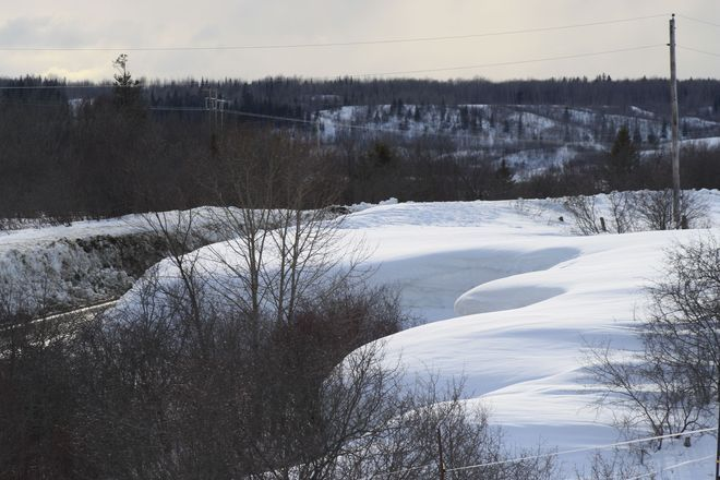 My fence is under there--Temiskaming Shores, Ont.