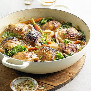 Brown Ale-Braised Chicken From Better Homes and Gardens, ideas and improvement projects for your home and garden plus recipes and entertaining ideas.