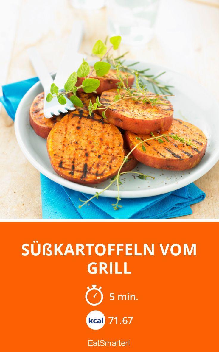 Süßkartoffeln vom Grill - smarter - Zeit: 5 Min. | eatsmarter.de