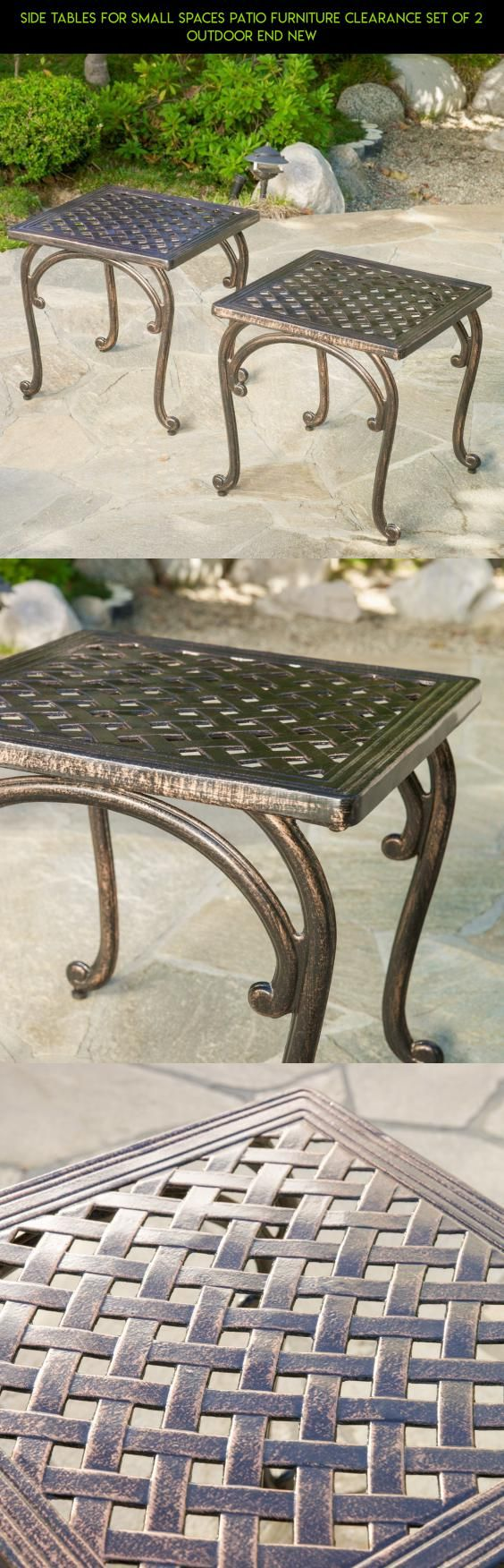 Side Tables For Small Spaces Patio Furniture Clearance Set Of 2 Outdoor End NEW #racing #tech #plans #shopping #products #patio #kit #sets #fpv #camera #furniture #technology #drone #parts #gadgets #clearance #2