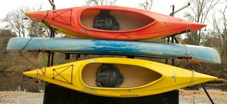 i think used kayaks are cool. shows they were used well and had their fun in the waters :)