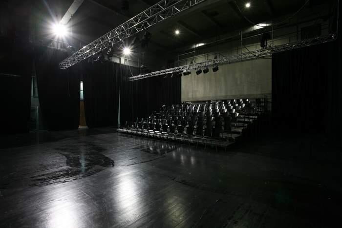 Teatr Łaźnia Nowa, os. Szkolne 25, Nowa Huta, Kraków, Polska.